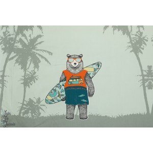 Panneau jersey Ours à la plage STENZO