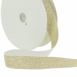 ceinture Elastique Lurex 20mm or