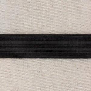 Elastique Caleçon 25mm noir