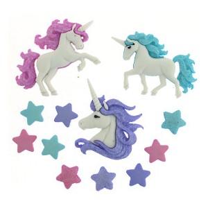 Bouton Magical Unicorns