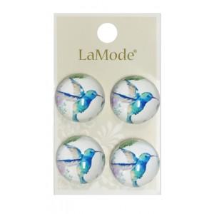 Bouton Hummingbird - LaMode Lush