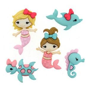 Boutons mermaid Kisses