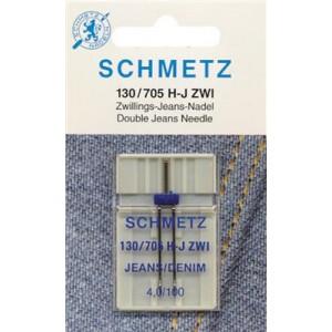 aIGUILLE dOUBLE JEANS 100-4 schmetz