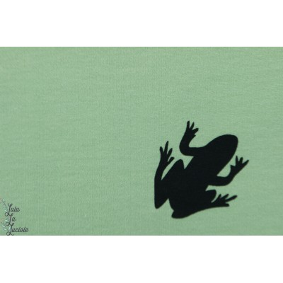 Sweat ''Animal are equals'' - frog - Chat chocolat grenouille vert bio organique