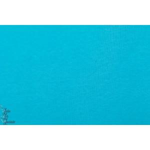 jacquard Bio Uni Turquoise Lillestoff
