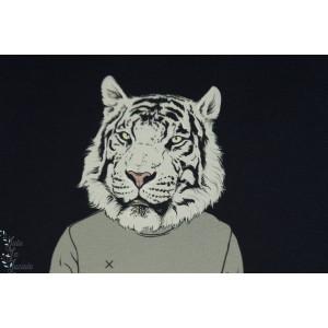 panneau jersey tigre humain marine STENZO