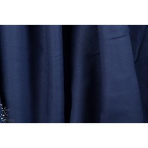 Tissu crêpe Cobalt Atelier Brunette