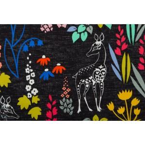 Jersey Digital Capricorn verson puoti biche animal noir effet jean