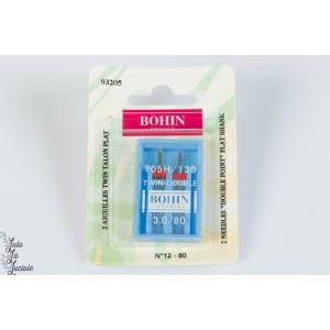 Aiguille Twin par 2 BOHIN 3.0/80