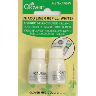 Clover - recharge de poudre blanche
