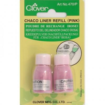 Clover - recharge de poudre rose