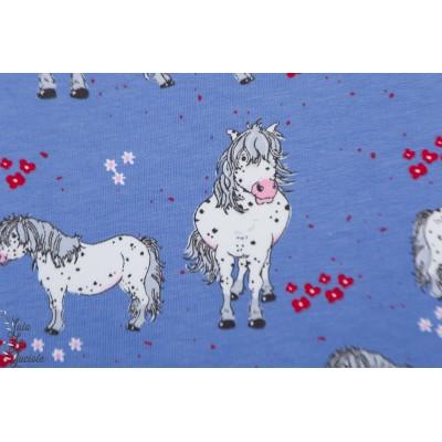 Summersweat bio Pony Punkrtchen Lillesoft tante gisi bleu ponney cheval