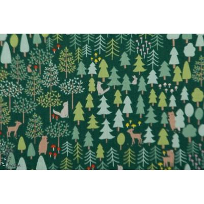 Popeline Dear Stella The Forest - little red - 977 la forêt loup chaperon rouge