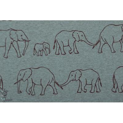 Jersey bio Parade des Eléphants SUSAlabim lillestoff afrique safari animaux