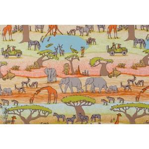 Jersey bio Safari SUSAlabim Lillestoff afrique animaux savane enfant