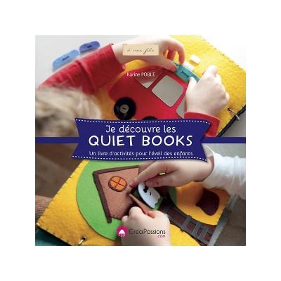 Je découvre les quiet books - livre éveil couture enfant bébé