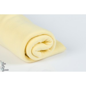 BORD CÔTE BIO Jaune Pastel linéare 160cm Stoffonkel