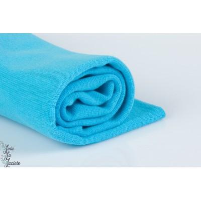 BORD CÔTE BIO Bleu Océan, linéaire 160cm Stoffonkel