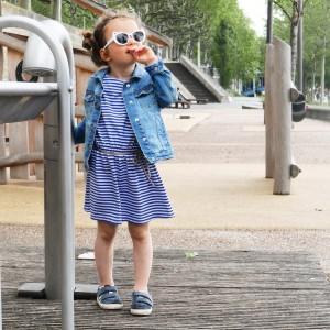 Patron Ikatee CORFOU Robe à poche 3 - 12 ans enfant fille facile jersey