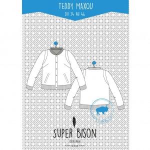 Patron Teddy Femme Maxou 34 au 46 SUPER - BISON