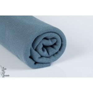 BORD CÔTE BIO Bleu gris Nuit linéaire 160cm Stoffonkel