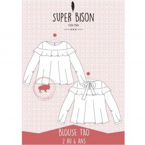 Patron blouse Tao 2/6 ans SUPER - BISON