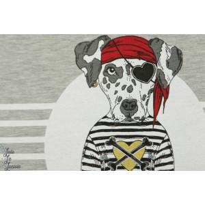 panneau sweat chien pirate rouge Stenzo