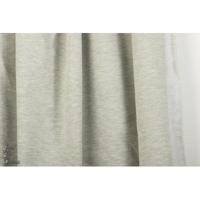 Jersey Jacquard Stenzo gris layette chiné bébé pastel sweat
