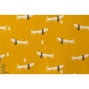popeline chien Bertie 1149 collection mori girls de dashwood studio