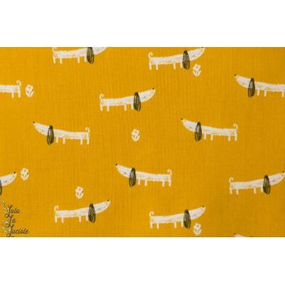 popeline chien Bertie 1149 collection mori girls de dashwood studio
