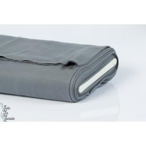Tissu Bord-Côtes Gris