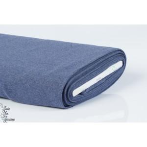 Tissu Bord-Côtes Jeans Chiné