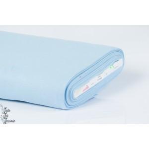 Tissu Bord-Côtes Bleu Clair