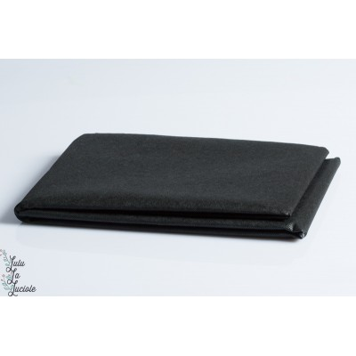 Vlieseline  thermocollant Noir pour coton