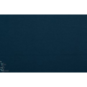 Jersey Bio uni Stella Kombi Lillestoff bleu dunkelblau