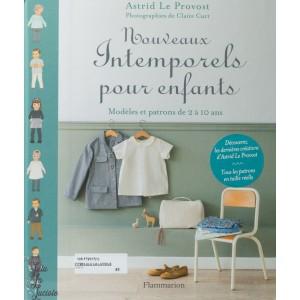 Nouveaux Intemporels pour enfants, patron de couture pour vêtement fille et garçon.