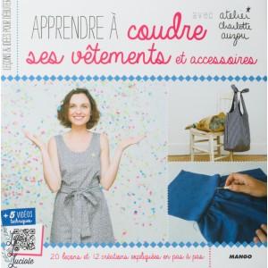 Apprendre à coudre ses vêtements avec Atelier charlotte Auzou