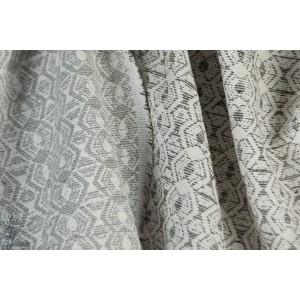 jacquard  graphique  JACK10 couleur 151 - gris blanc