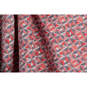 Jacquard  Jack  bleu blanc rouge graphique mode femme