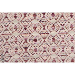 jacquard CHACAR 9 violet ocre blanc graphique mode femme losange