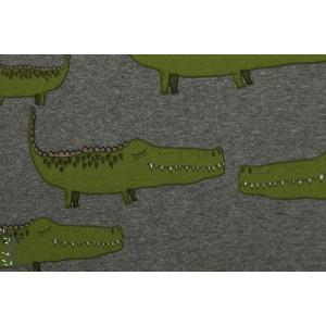 Jersey bio Ali GAtor Lillestoff aligator crocodile animaux garçon