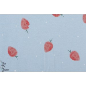 Jersey bio Wilma  ErdbeerLillestoff les fraises
