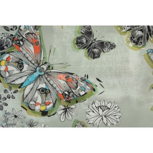 Batiste Bio C Pauli Farfalla - Papillon voile organique mode femme couture nature