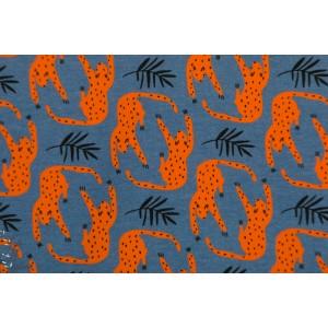 Sweat bio Panthere Blue - About Blue Fabric