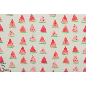 Sweat Bio Paper Pigeon2 Watermelon - About Blue fabric