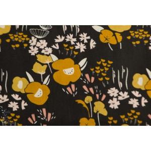 Popeline Dovestone DOVE1360 Wildflowers Dashwood Studio fleur suavage patch