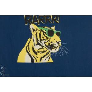 Panneau jersey Safari Rarrr Tigre Hilco