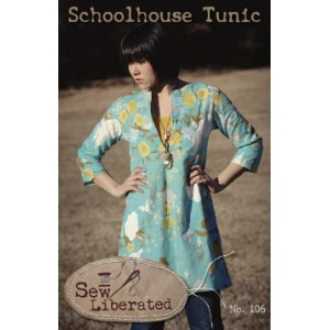 Schoolhouse Tunic Pattern Sew liberated patron blouse femme anglais
