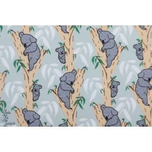 jersey Bio Koala bârlis Lillestoff animaux zart graphique doux enfant
