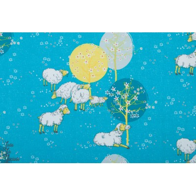 jersey Bio Schafsfrühling lillestof mouton animaux lillestoff enfant gisi